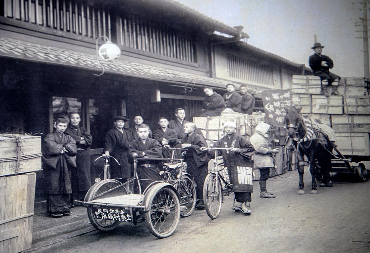 京都活具-旧社屋前