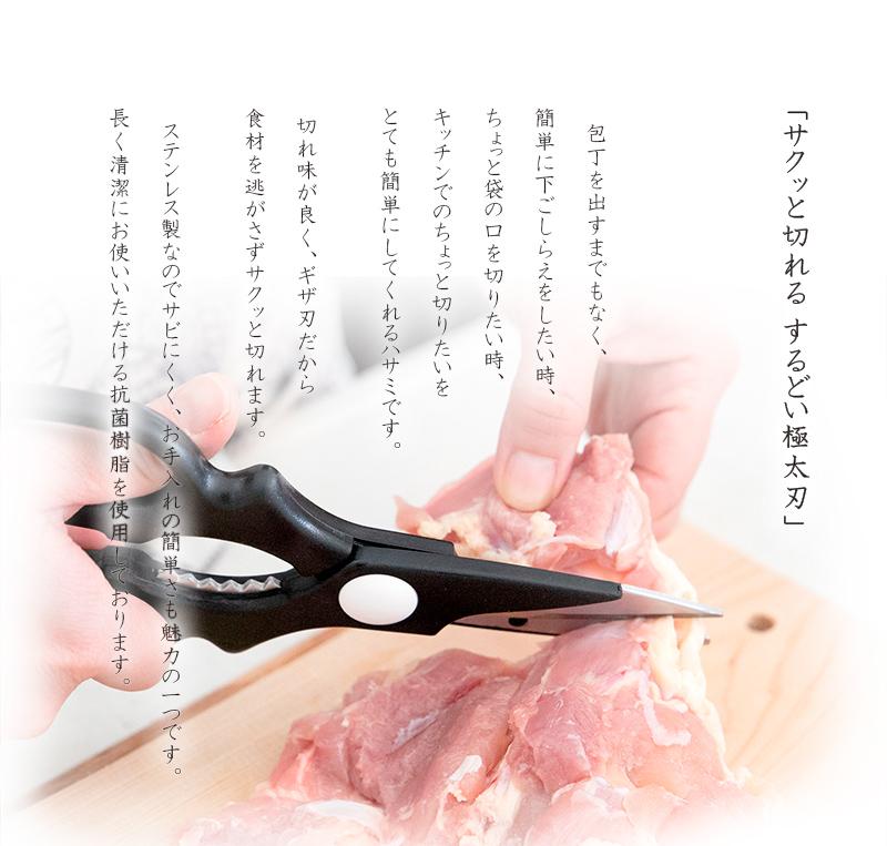 京都活具-料理はさみ